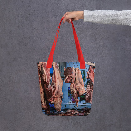 Oaxaca Meat Market Tote Bag