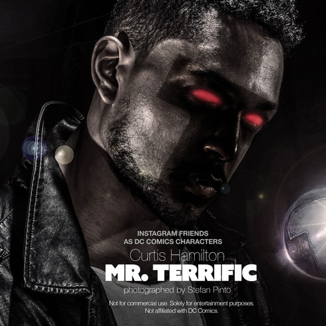 Curtis Hamilton as Mr. Terrific