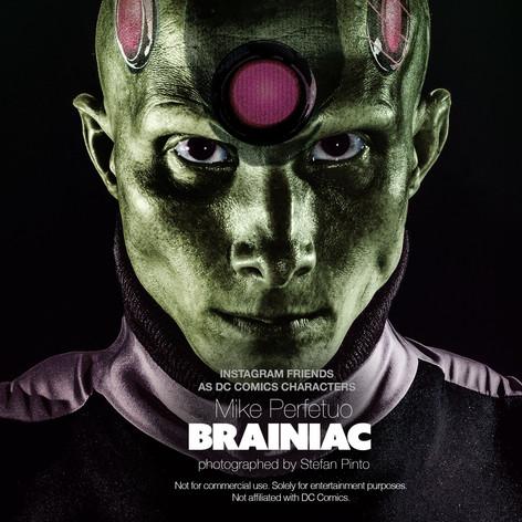 Mike Perfetuo as Brainiac