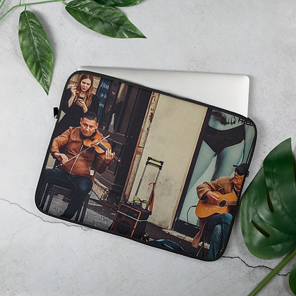 "Beautiful Destinations ""Montpellier #FeelFree"" Laptop Sleeve"