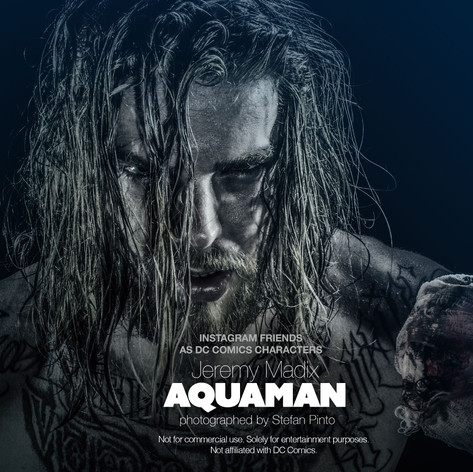 Jeremy Madix as Aquaman
