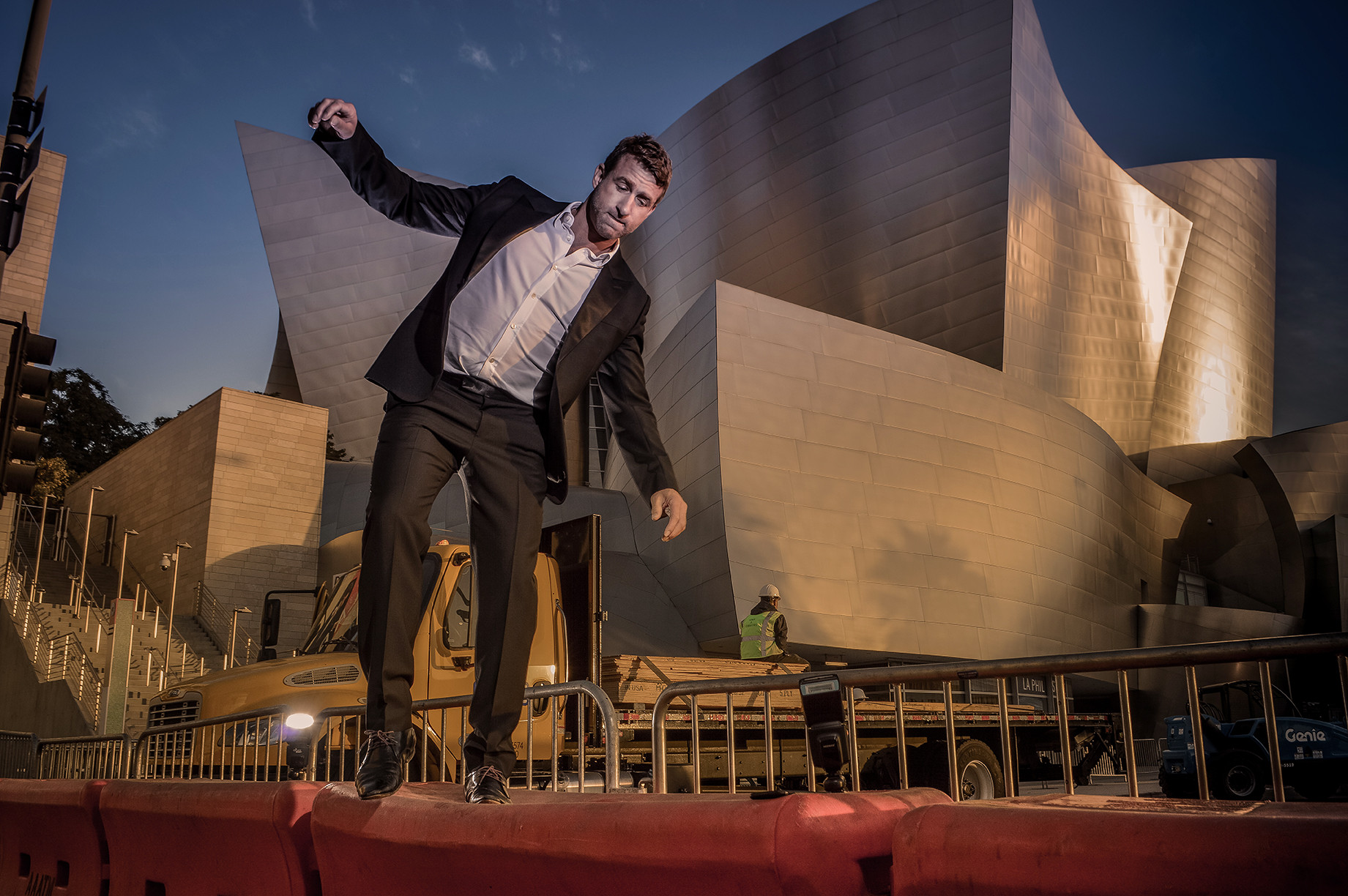 Disney Concert Hall by Stefan Pinto