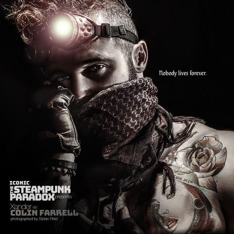 Xander as Colin Farrell