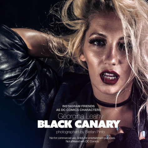 Georgina Leahy as Black Canary