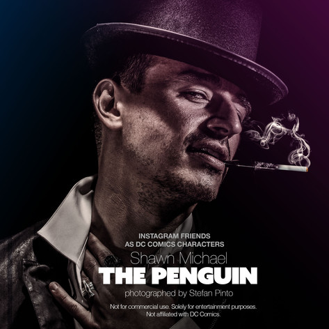 Shawn Michael as The Penguin