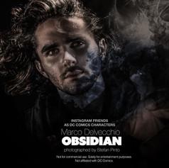Marco Delvecchio as Obsidian