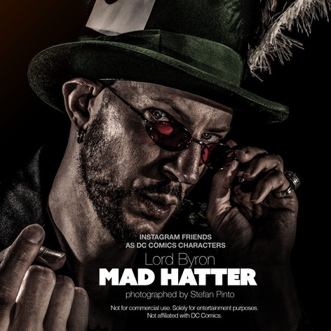 Lord Byron as Mad Hatter