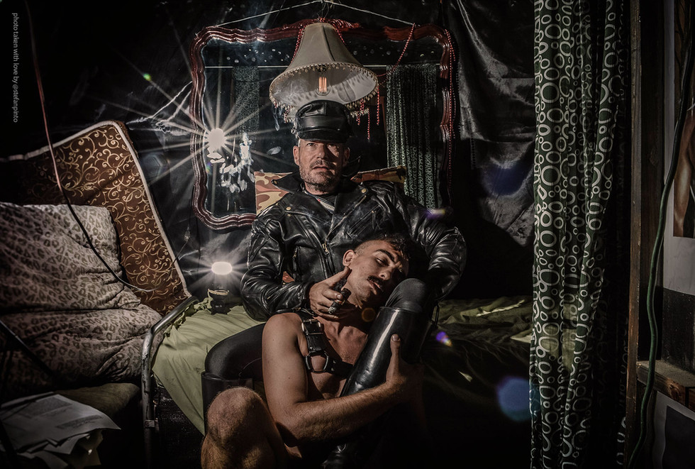 """Tom of Finland """"Smoke and Mirrors"""" by Stefan Pinto"""