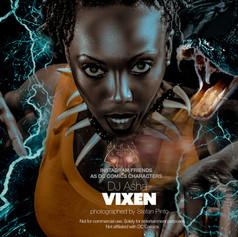 DJ Asha as Vixen