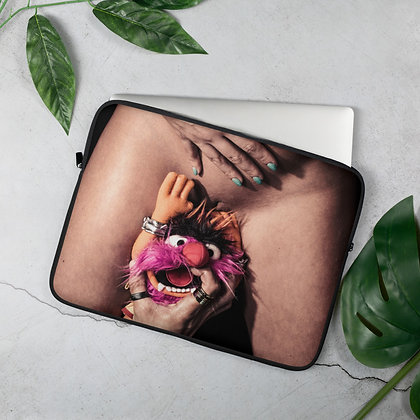 "Smoke + Mirrors ""Fuçkin' Animal"" Laptop Sleeve"