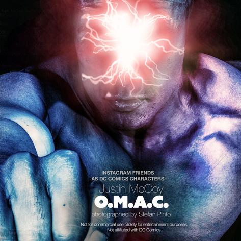 Justin McCoy as O.M.A.C.