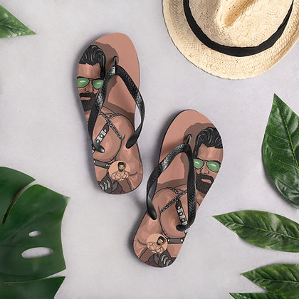Exclusive Stefan Pinto by Homobsession Flip-Flop Flip Flops