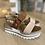 Thumbnail: Sandalo platform Nero Giardini