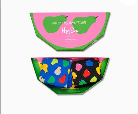 Fruit Socks Gift Box 2-Pack woman