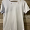 Thumbnail: T-Shirt in cotone bianco con cuciture colorate