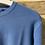 Thumbnail: Maglione azzurro in cotone collo U