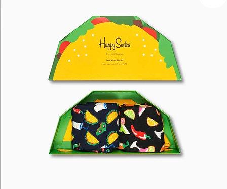 Taco Socks Gift Box 2-Pack man