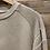 Thumbnail: Felpa beige in cotone garzato