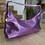 Thumbnail: Borsa mezzaluna specchio lilla