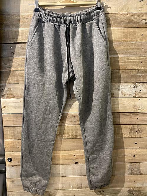 Pantalone Tuta cotone garzato