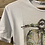 Thumbnail: T-shirt in cotone bianco con stampa