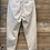 Thumbnail: Pantalone in cotone panna con elastico