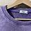 Thumbnail: Felpa in cotone garzato viola