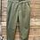 Thumbnail: Pantalone in cotone verde con elastico
