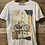 Thumbnail: T-shirt in cotone bianco stampa