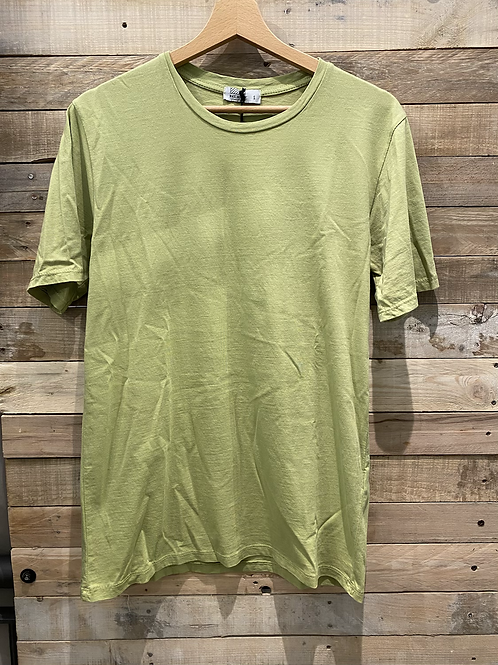T-shirt in cotone verde