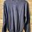 Thumbnail: Maglione blu in cotone collo a U