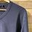 Thumbnail: Maglione blu in cotone collo a V
