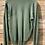 Thumbnail: Maglione verde in cotone collo a V