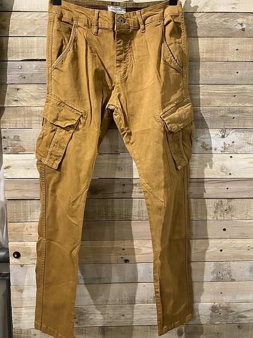 Pantalone Ocra con tasche