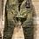 Thumbnail: Pantaloni grinze verde militare