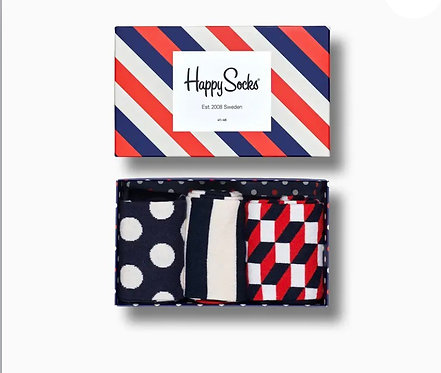 Stripe Gift Box 3-Pack man