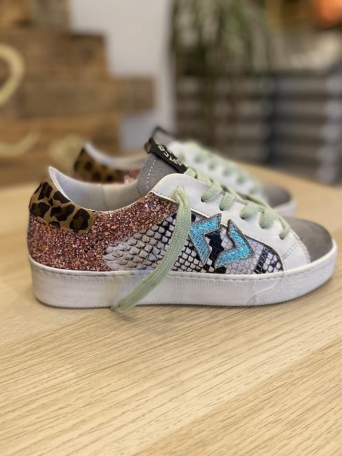 Sneakers concept Leopard/ pitone