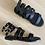 Thumbnail: Sandalo schiava nero
