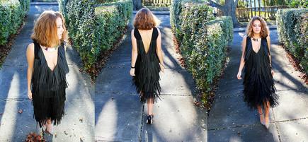 STRAW DRESS