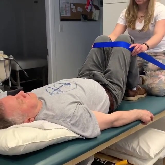 Lower spine treatment technique with Dan