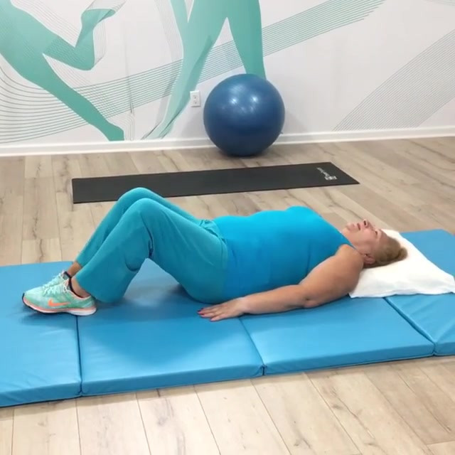 Core stability exercise- make sure to br