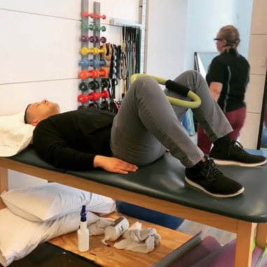 Hip adductor straightening exercise #the