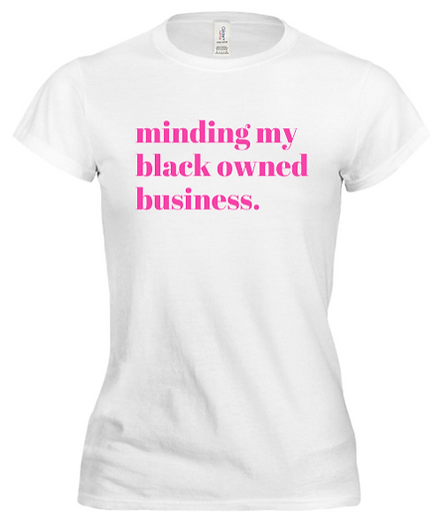 minding my business - limited edition!