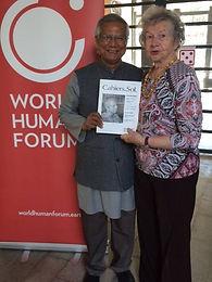 Rencontre avec Muhammad Yunus
