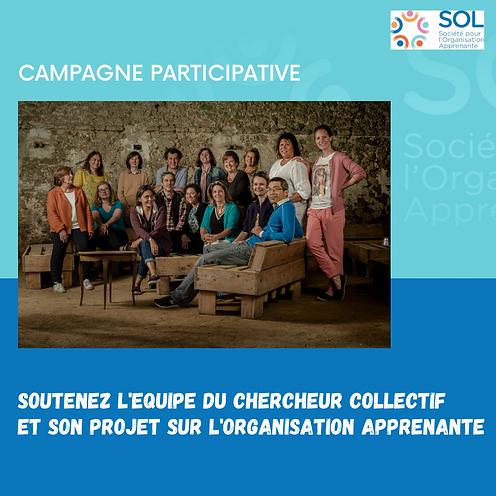 Campagne Crodfunding - le chercheur coll