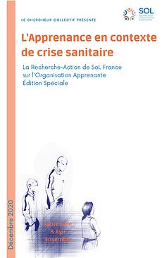 1 - Edition spéciale - Crise sanitaire.