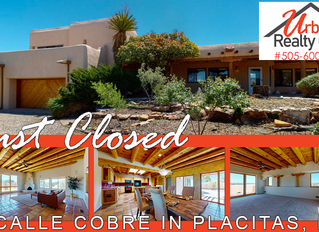 Just Closed in Placitas!