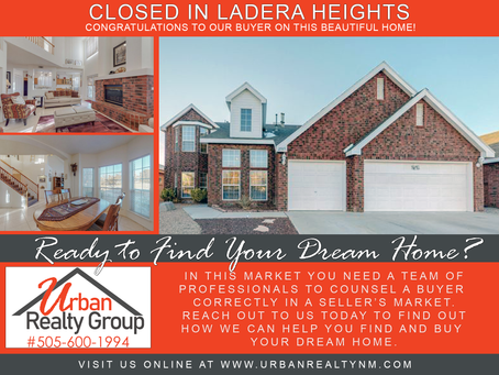 Closed in Ladera Heights!