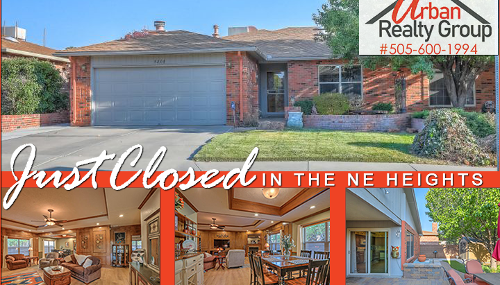 Just Closed in the NE Heights