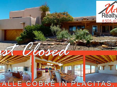 Just Closed in Placitas